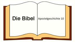 Apostelgeschichte 10