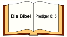 Prediger 8,5