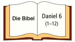über Daniel 6, 1-12