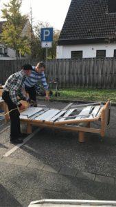 Pflegebetten für die Ukraine 2