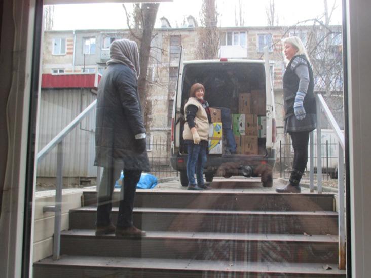 Ankunft Gemeinde Chişinău-Moldawien