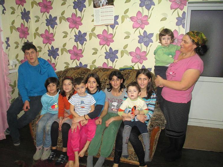 Grossfamilie Vieru - Moldawien