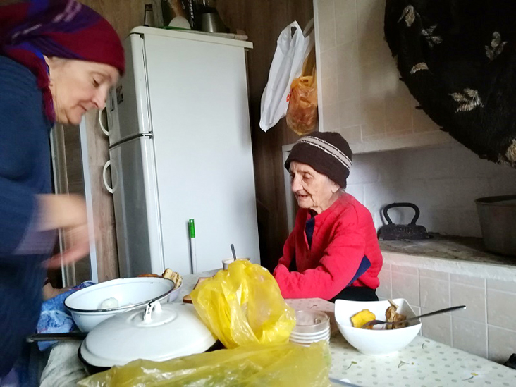 97 jährige Witwe-Moldawien