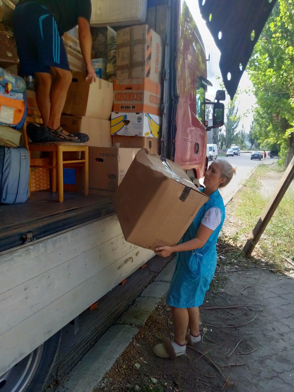 Kleider und PC´s für die Ukraine 7
