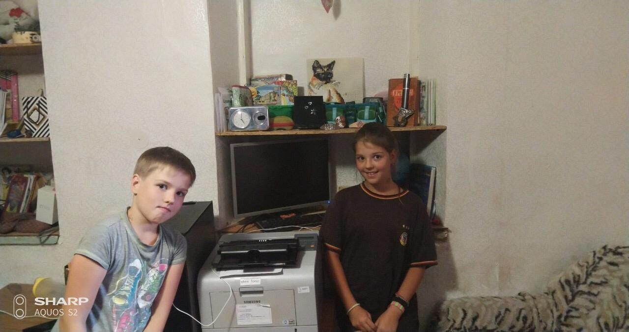 Kleider und PC´s für die Ukraine 21