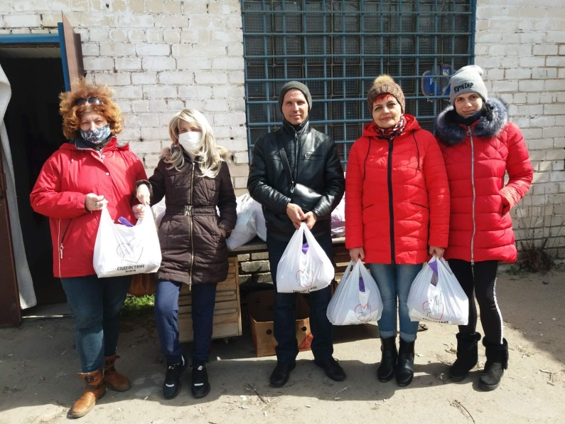 Versorgung von Armen und Kranken in der Ukraine